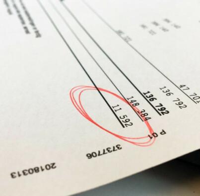 Image: Tabben som forsinker skattepengene