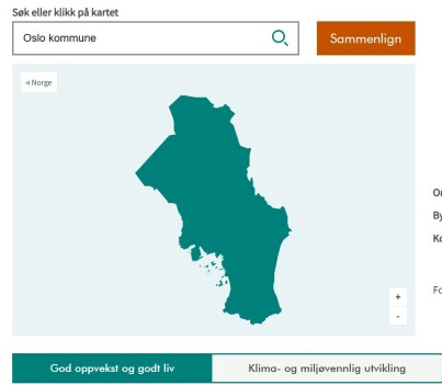 Image: Kartet som avslører din kommune