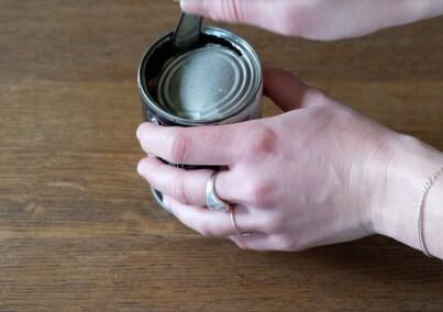 Image: Enkelt uten boksåpner