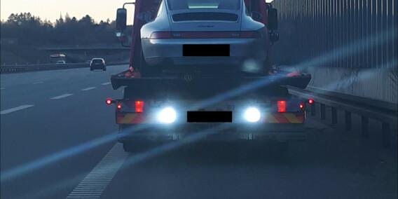 Image: Her tar de bilen fra fartsbølla