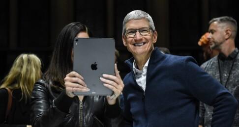 Image: Avslørte Apple-lansering