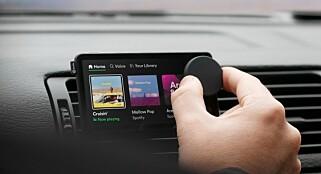 Image: Spotify med egen bil-dings