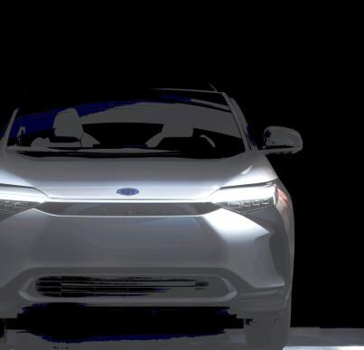 Image: Toyotas første elbil vises mandag