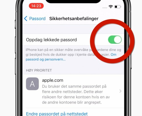 Image: iPhone-funksjonen alle bør aktivere