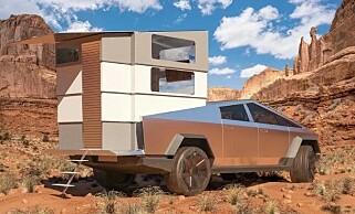 Image: Tesla Cybertruck som campingbil