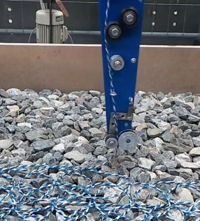 Image: «Strikket» vei erstatter asfalt