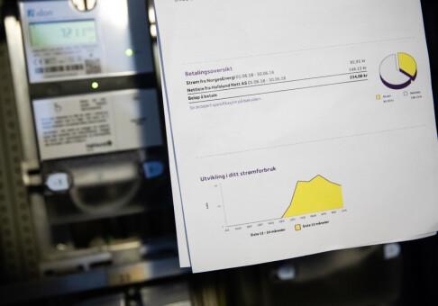 Image: Fikk 30 % for høy strømpris