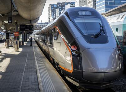 Image: Blir Norges raskeste tog
