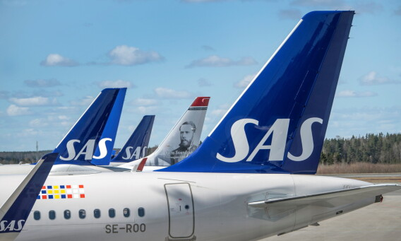 Image: – SAS skylder kundene over en milliard kroner