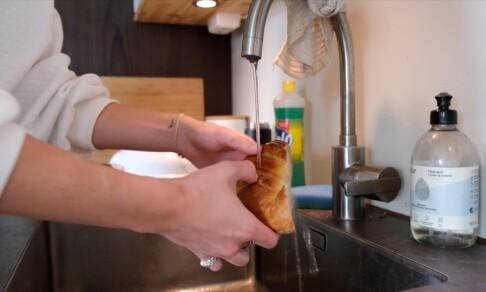 Image: Gjør tørt brød ferskt igjen