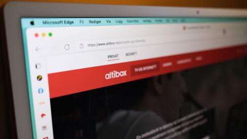 Image: Reagerer på Altibox