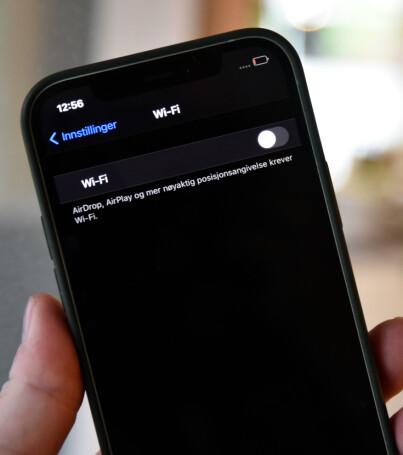 Image: iPhone-feil «dreper» WiFi