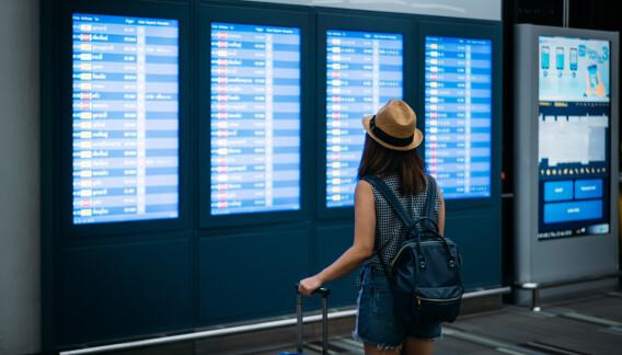 Image: 1 av 4 Oslo-beboere skal reise utenlands