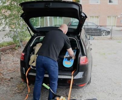 Image: Unngå løse gjenstander i bilen!