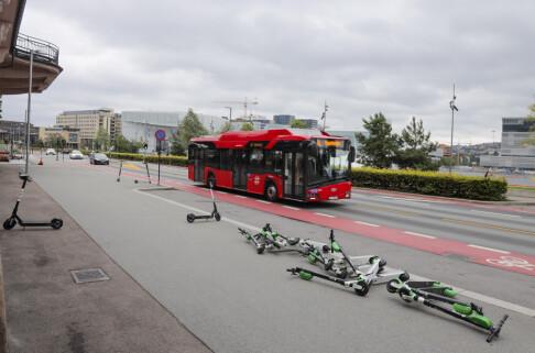 Image: Nå kan du få parkeringsbot med elsparkesykkelen