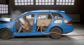 Image: Se hvor farlig løs baggasje kan være