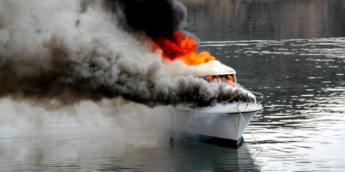 Image: Antall båtbranner øker kraftig
