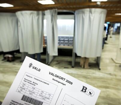 Image: Nå blir valgkortet digitalt