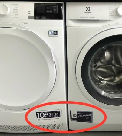 Image: Tabben som halverer garantien