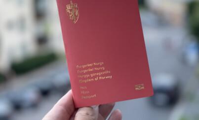 Image: Kripos sjekker deg før du får reise