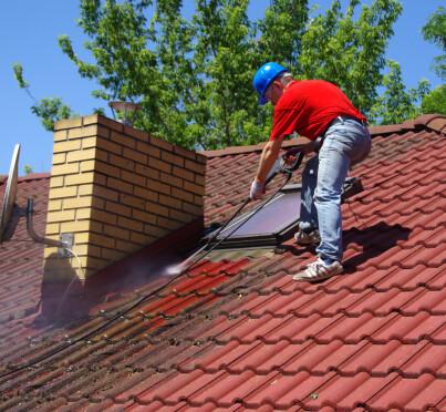 Image: Fjern mosen på taket nå