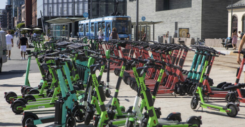 Image: Oslo full av ubrukelige sykler