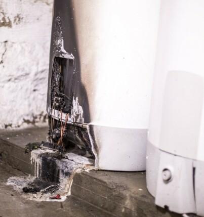 Image: Sjekk nå: Kan bli en brannfelle