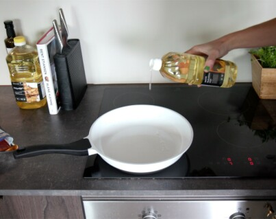 Image: Slik unngår du oljesprut