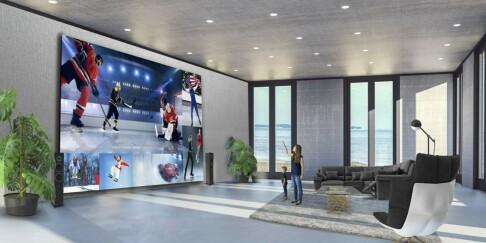Image: Enorm TV: 15 millioner kroner!