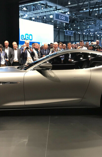 Image: Super-elbilen nærmer seg