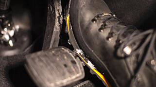 Image: Bremsene svikter, airbagen virker ikke
