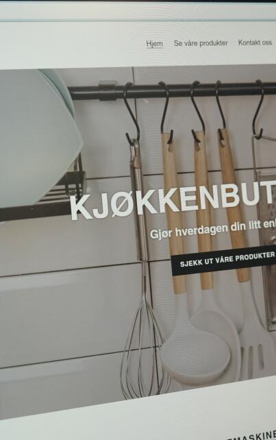 Image: – Ligg unna denne nettbutikken