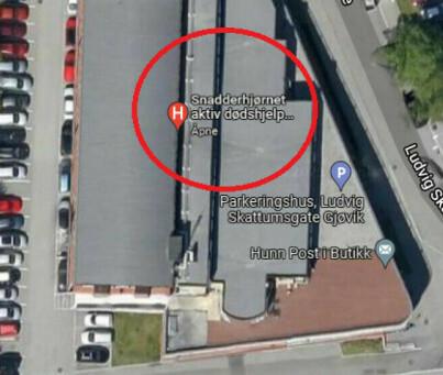 Image: Fikk Google Maps-sjokk
