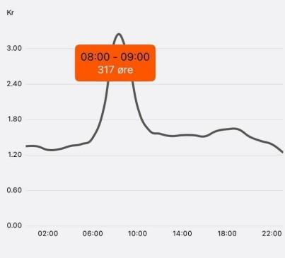 Image: Årsrekord: Over tre kroner kilowattimen!