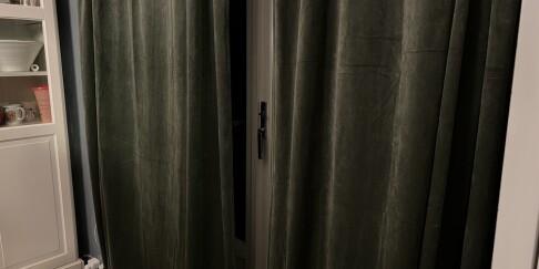 Image: Trekk for gardinene i kveld