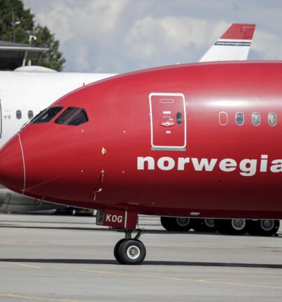 Image: Gladmelding til Norwegian-kunder
